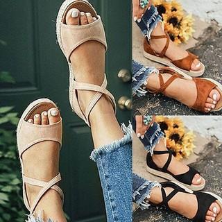 Giày sandal nữ hở ngón đi biển thời trang mùa hè thumbnail