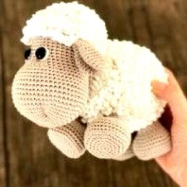 Cừu handmade, size25cm