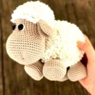 Cừu handmade size 30cm