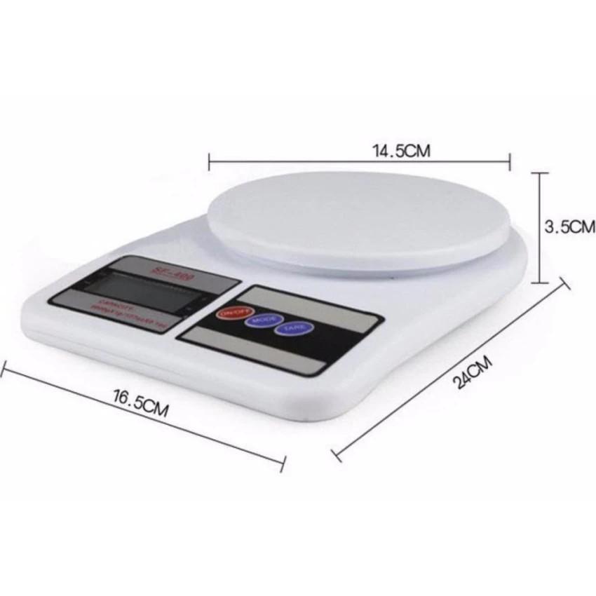 Cân điện tử mini SF-400 (Trắng), cân mini