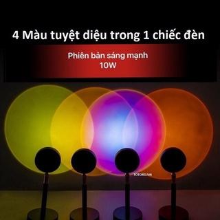 Đèn Hoàng hôn Sunset Lamp 4 màu/16 màu hiệu ứng ánh sáng đẹp điều khiển màu