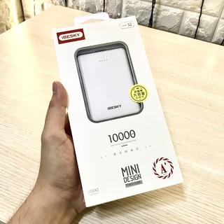 Pin sạc dự phòng mini IBESKY S2 (10.000mah) chất lượng + Tặng 1 đèn led usb thumbnail