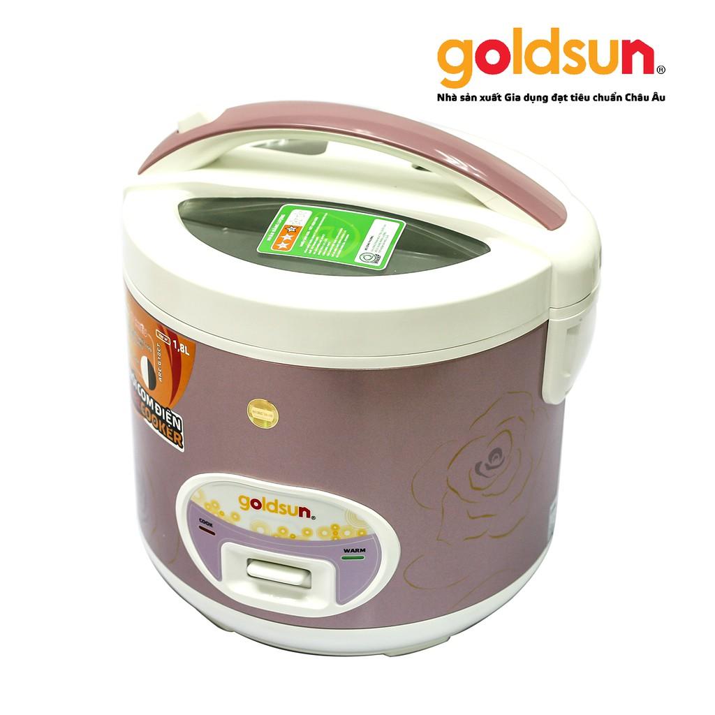Nồi cơm điện Goldsun 1,8 lít ARC-G18CT - 2850847 , 450511635 , 322_450511635 , 822000 , Noi-com-dien-Goldsun-18-lit-ARC-G18CT-322_450511635 , shopee.vn , Nồi cơm điện Goldsun 1,8 lít ARC-G18CT