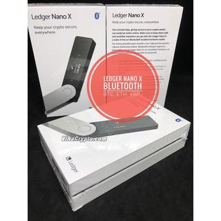 ( Có Vi-deo) Ví lạnh Ledger Nano X- Bản nâng cấp mới nhât Bluetooth, Chính hãng Pháp.
