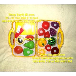Đồ chơi Vali trái cây cao cấp cho bé
