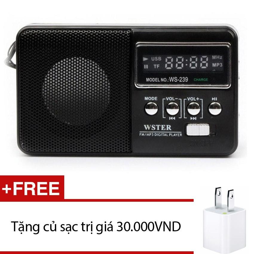 Loa nghe nhạc đa năng Wster WS-239 (Đen) +Tặng 1 cốc sạc OEM - 2547659 , 108156988 , 322_108156988 , 134000 , Loa-nghe-nhac-da-nang-Wster-WS-239-Den-Tang-1-coc-sac-OEM-322_108156988 , shopee.vn , Loa nghe nhạc đa năng Wster WS-239 (Đen) +Tặng 1 cốc sạc OEM