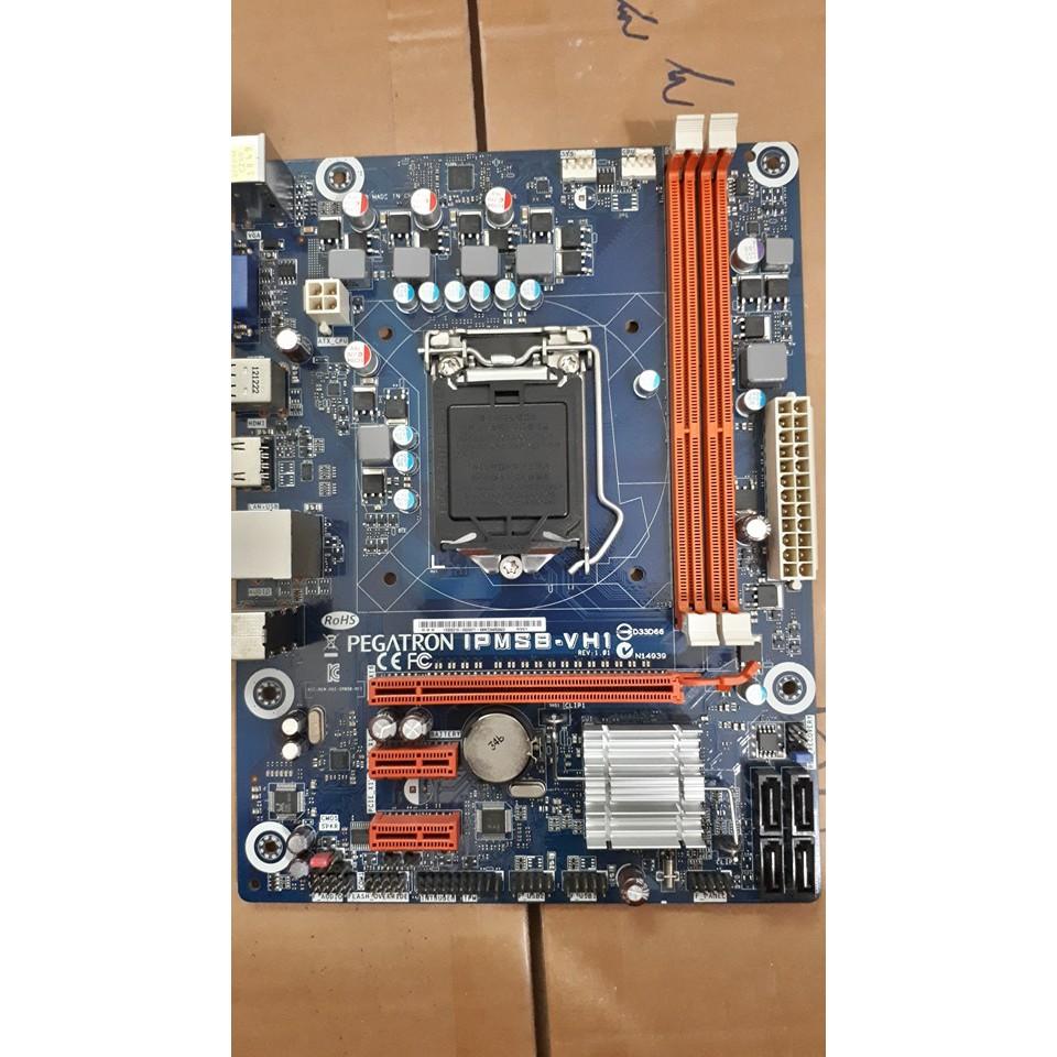 Main H61 socket 1155 dùng cpu g620, g840, g2030...