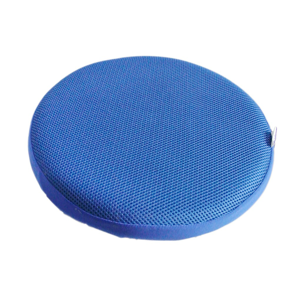 Bar Stool Covers Round Chair Seat Cover Sleeve Protector Royal Blue 33cm