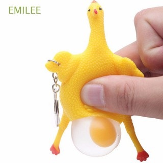 Funny Fashion Novelty Gift Decompression Squeeze Toy with Keyring