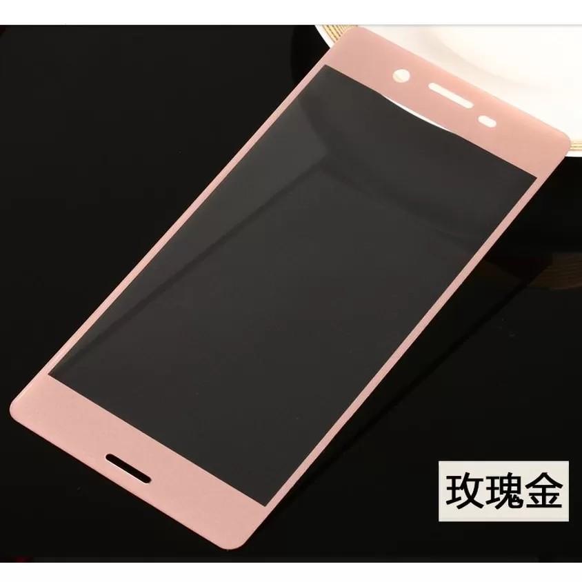Miếng dán cường lực phủ kín màn Sony Xperia XA (hồng)