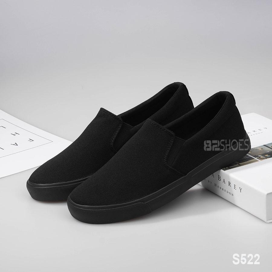 Giày lười nam - Slip on nam vải - Mã S522