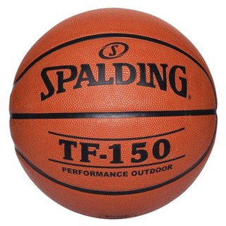 |Chính hãng| Quả bóng rổ Spalding TF 150 Perfomance- Outdoor size 5,6,7- Tặng kim bơm bóng và túi lưới đựng bóng