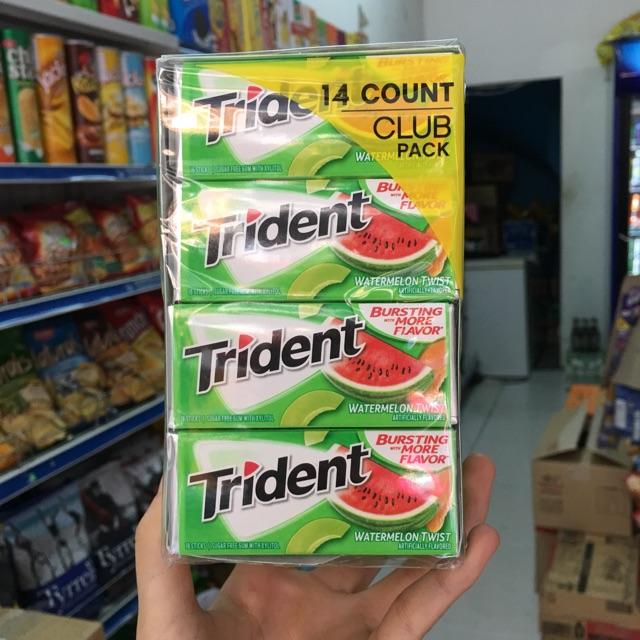 1 hộp kẹo cao su triden vị dưa hấu. 1 hộp 14 thanh - 3271398 , 512331413 , 322_512331413 , 266000 , 1-hop-keo-cao-su-triden-vi-dua-hau.-1-hop-14-thanh-322_512331413 , shopee.vn , 1 hộp kẹo cao su triden vị dưa hấu. 1 hộp 14 thanh