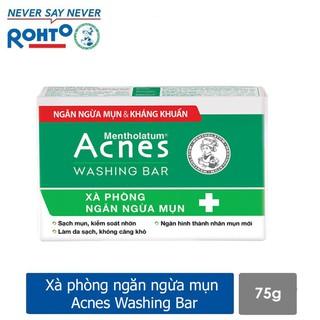 Acnes Washing Bar Xà phòng kháng khuẩn và ngăn ngừa mụn (Mụn Lưng, Cổ Ngực và Mặt) thumbnail