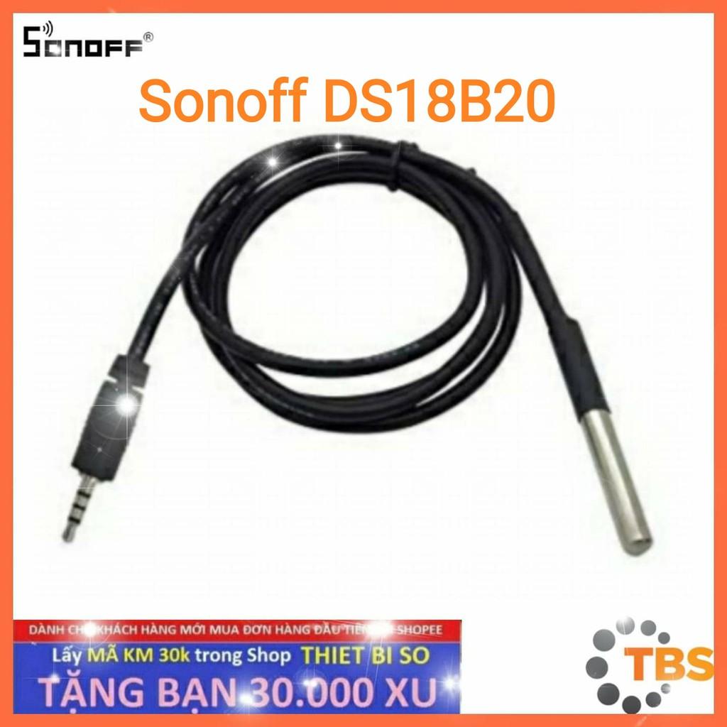 SONOFF DS18B20, cảm biến nhiệt độ nước, dùng kết hợp với các thiết bị (Sonoff TH10, Sonoff TH16)