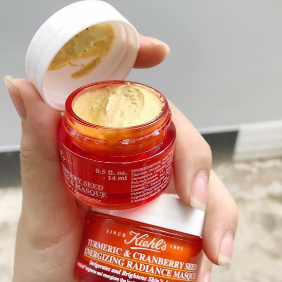 Mặt Nạ Kiehl's Turmeric & Cranberry Seed Energizing Radiance Masque.    Shopee Việt Nam