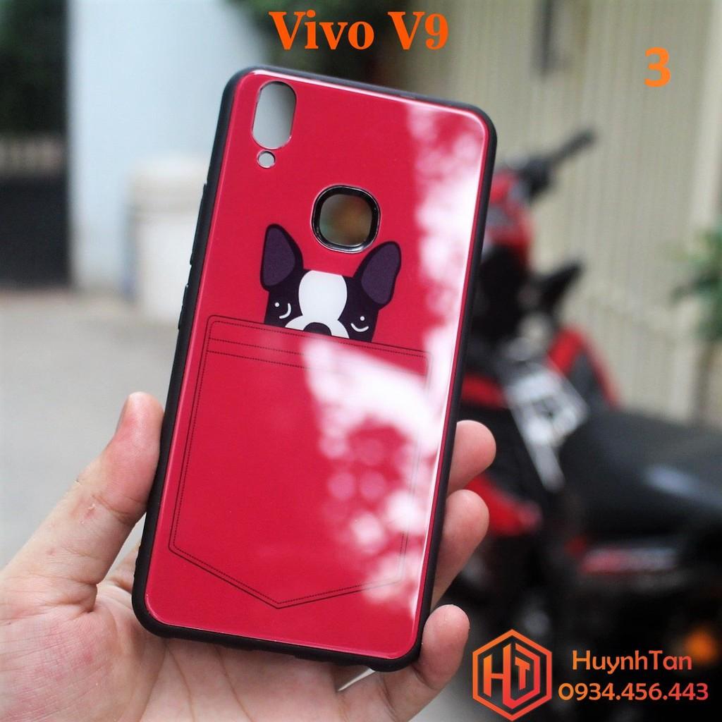 Ốp lưng Vivo V9 chống sốc kính cường lực in hình siêu đẹp(Số 3)