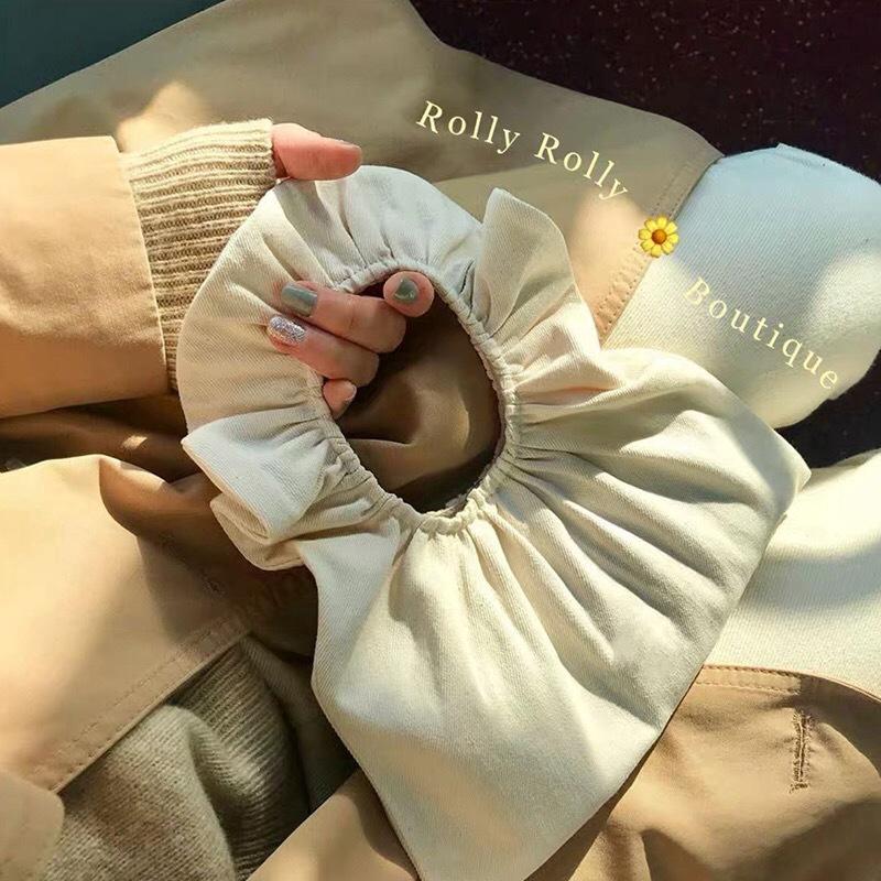 Túi vải canvas mini thời trang Hàn Quốc xinh xắn