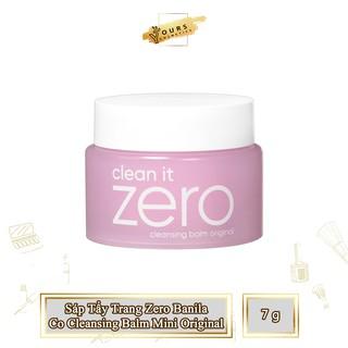 [Auth Hàn] Sáp Tẩy Trang Zero Banila Co Cleansing Balm Mini - Cleansing Wax Zero Banila - Tẩy Trang Dạng Sáp Zero Banila thumbnail