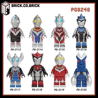 PG8248 Đồ chơi lắp ráp minifigure và bigfig nhân vật lego siêu nhân điện quang Ultraman.