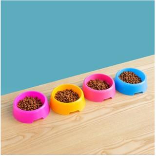 Bát Ăn Đơn Cho Thú Cưng - Chén Cho Chó Mèo Nhiều Màu Sắc Nhựa Dày Sản Phẩn AMITAVET thumbnail
