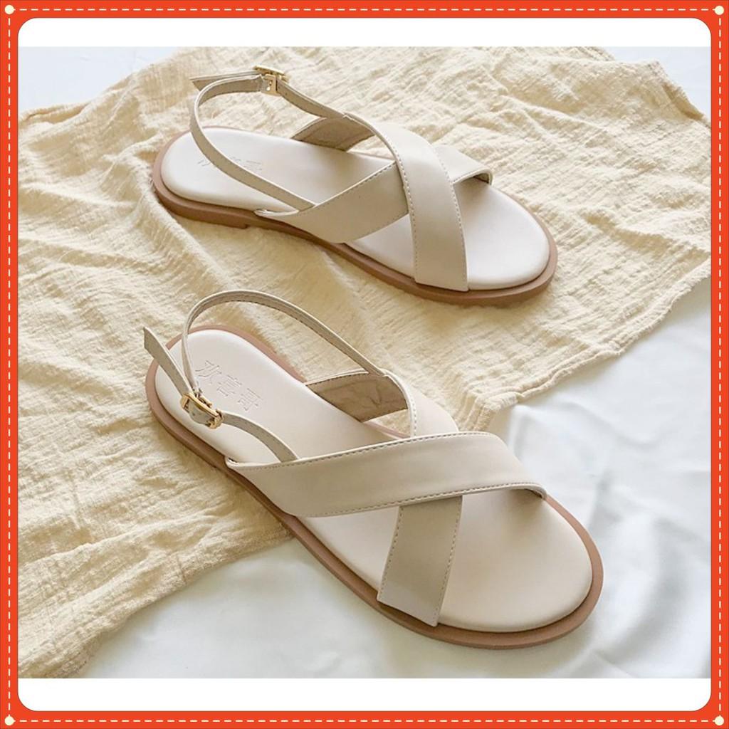 Sandal Quai Chéo Bảng To Mã S15 Phong Cách Trẻ Trung Trend 2020