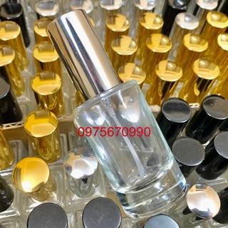 Chai chiết nước hoa 20ml – 22ml tròn thuỷ tinh. Lọ chiết nước hoa – 22ml tròn thuỷ tinh