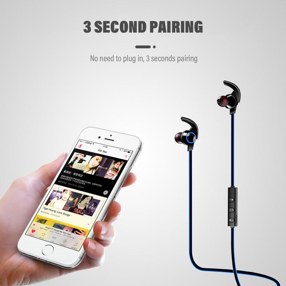 Tai nghe không dây Pulierde S89 tích hợp BT 4.1 và mic tiện dụng