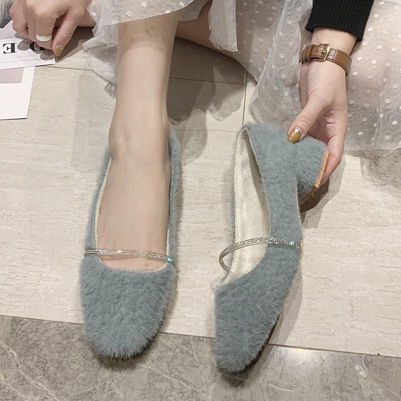 giày lười đính lông mềm thời trang nữ tính - 22508779 , 7402365399 , 322_7402365399 , 568500 , giay-luoi-dinh-long-mem-thoi-trang-nu-tinh-322_7402365399 , shopee.vn , giày lười đính lông mềm thời trang nữ tính