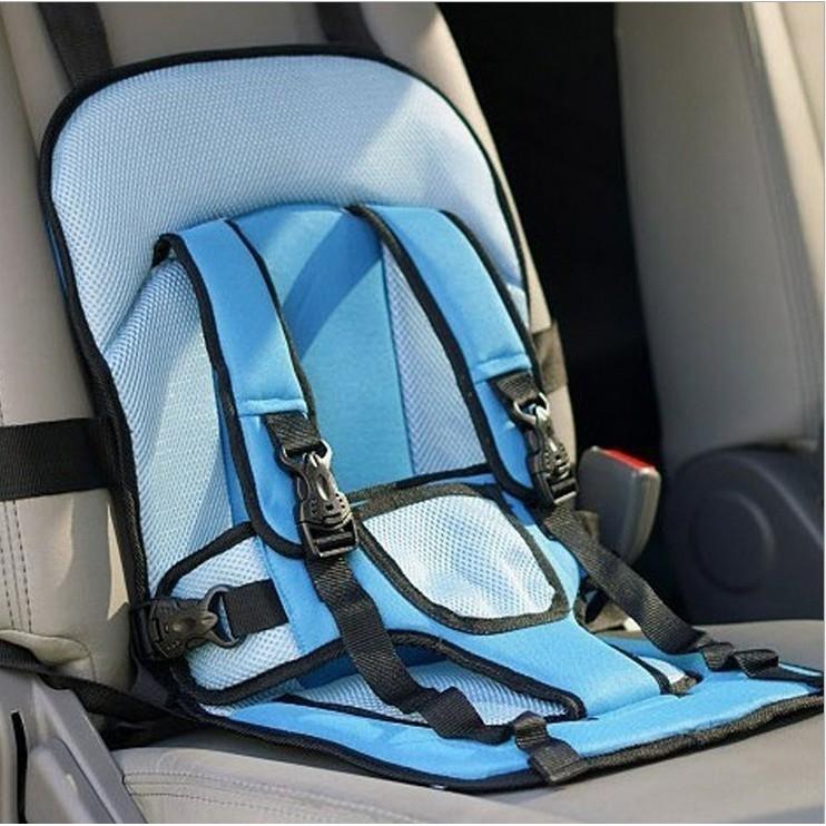 Ghế đi xe hơi đa năng an toàn cho bé xanh dương