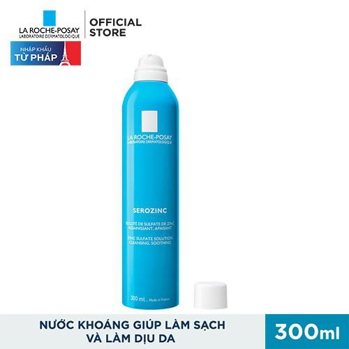 Hình ảnh Bộ sản phẩm xịt khoáng giảm dầu ngừa mụn & làm sạch sâu cho da dầu mụn La Roche-Posay Serozinc 350ml-1