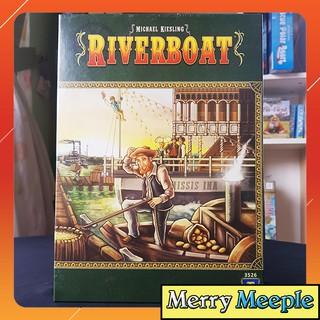 [US] Riverboat – Trò chơi board game