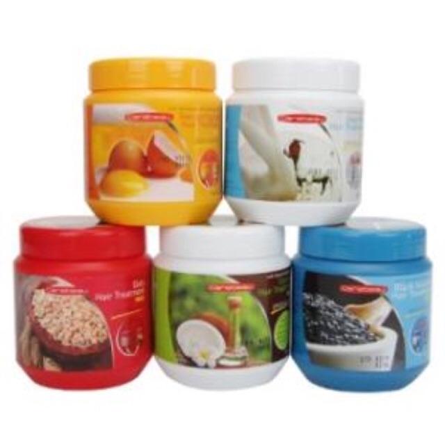 Ủ tóc Carebeau Thái lan(trứng gà, dầu đưa, sữa dê, lúa mạch)