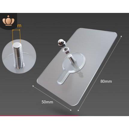 Miếng dán Ốc Vít cường lực giúp gắn giá kệ không cần khoan tường dài 14mm (BẮT VÍT ĐƯỢC TẤT CẢ CÁC GIÁ KỆ THÔNG THƯỜNG )
