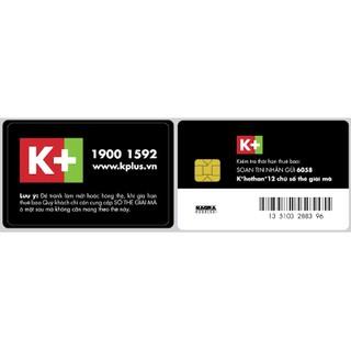 Đăng ký K+ 12 tháng ( tặng ngay thẻ thông minh)