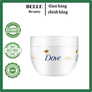 Kem Dưỡng Ẩm Toàn Thân Dove Silky Nourishing Body Cream - Silky Feeling Skin 300ml thumbnail