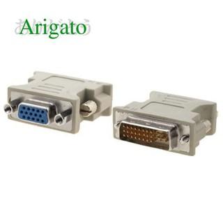 Đầu chuyển tín hiệu từ DVI 24+5 sang VGA DVI 24+1 sang VGA ARIGATO Đảm Bảo Chất Lượng thumbnail
