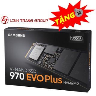 Ổ cứng SSD M.2 PCIe NVMe Samsung 970 EVO Plus 500GB-bảo hành 5 năm SD24