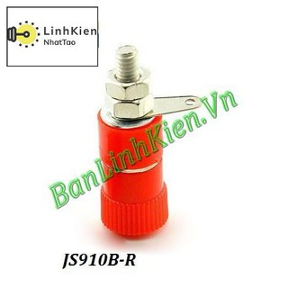 [Sale] Đầu Jack JS910B-R Màu Đỏ
