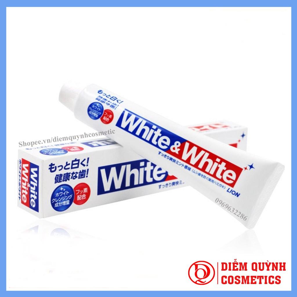 Kem đánh răng White & White Nhật Lion