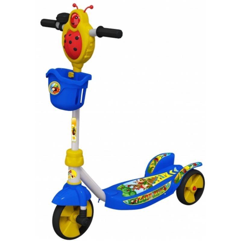 Xe trượt scooter con bọ Nhựa Chợ Lớn K1 – M1672-X3B.1 Nhựa Chợ Lớn M1672-X3B (Xanh dương). quà tặng sữa Nan