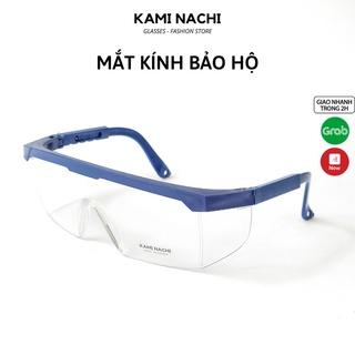 Mắt kính bảo hộ chắn gió, bụi, giọt bắn KAMI NACHI EN166 thumbnail