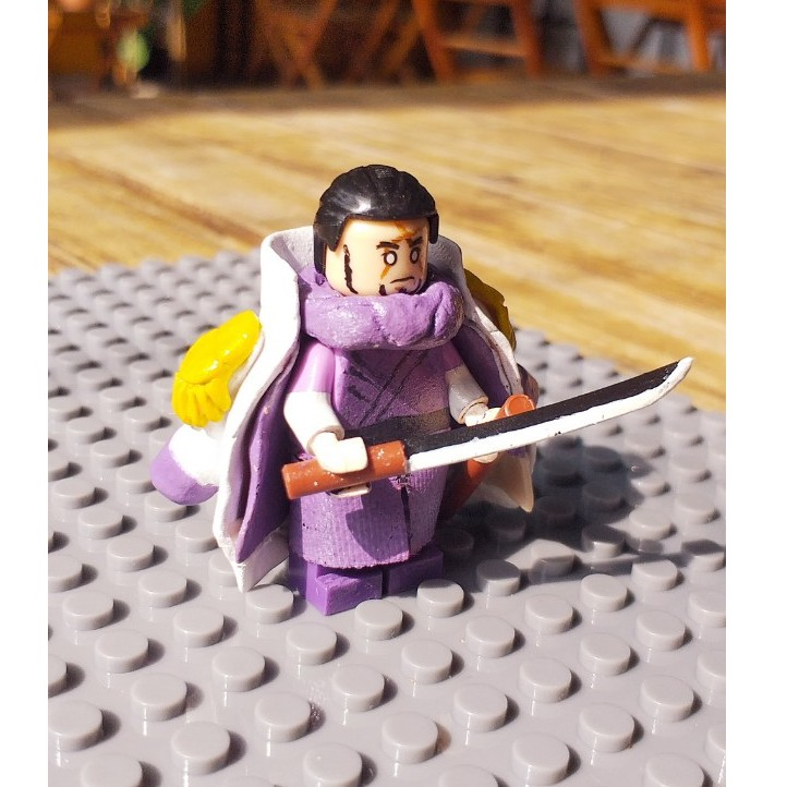 MÔ HÌNH [LEGO] FUJITORA ( ONE PIECE ) CUSTOM
