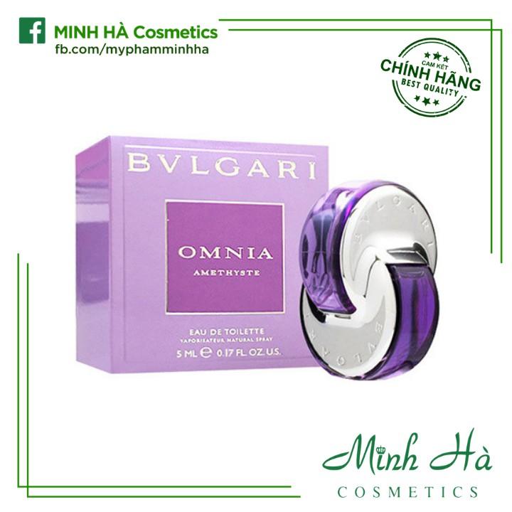 [Mini 5ml] Nước hoa nữ BVLGARI Omnia Amethyste EDT