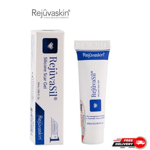 Gel ngăn ngừa sẹo và làm xẹp sẹo lồi, sẹo phì đại REJUVASKIN Rejuvasil 10ml