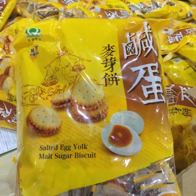 500gr Bánh quy giòn trứng muối Đài Loan - 9953115 , 546151593 , 322_546151593 , 160000 , 500gr-Banh-quy-gion-trung-muoi-Dai-Loan-322_546151593 , shopee.vn , 500gr Bánh quy giòn trứng muối Đài Loan