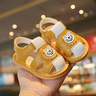 Sandal tập đi, dép tập đi cho bé,đế mềm cho các bé mới tập đi hình hổ con đáng yêu
