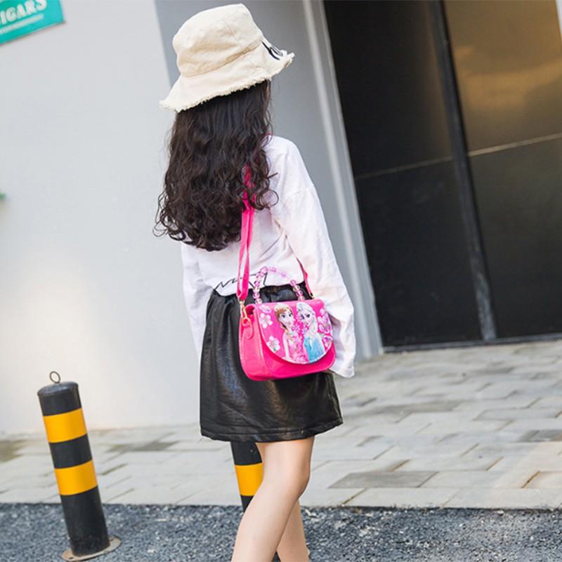 Happybay i Princess Girls Mini Bag Kitty PU Cartoon Cat Handbag Messenger Bag