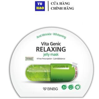 1 Miếng Mặt nạ dưỡng ẩm BNBG Vita Genic Relaxing Jelly Mask (Vitamin B) 30ml
