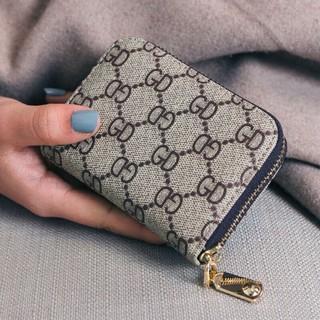 Ví Ngắn Nữ Để Thẻ Kéo Khóa Chất Da Đẹp- Ví Nữ Để Thẻ Size Mini Hàng Đẹp thumbnail